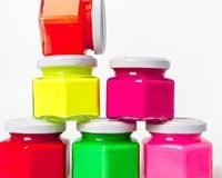 peinture fluo p